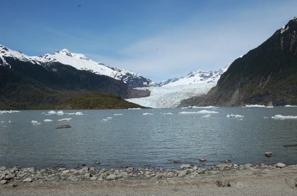 Breathtaking Mendenhall Glacier in Juneau, AK